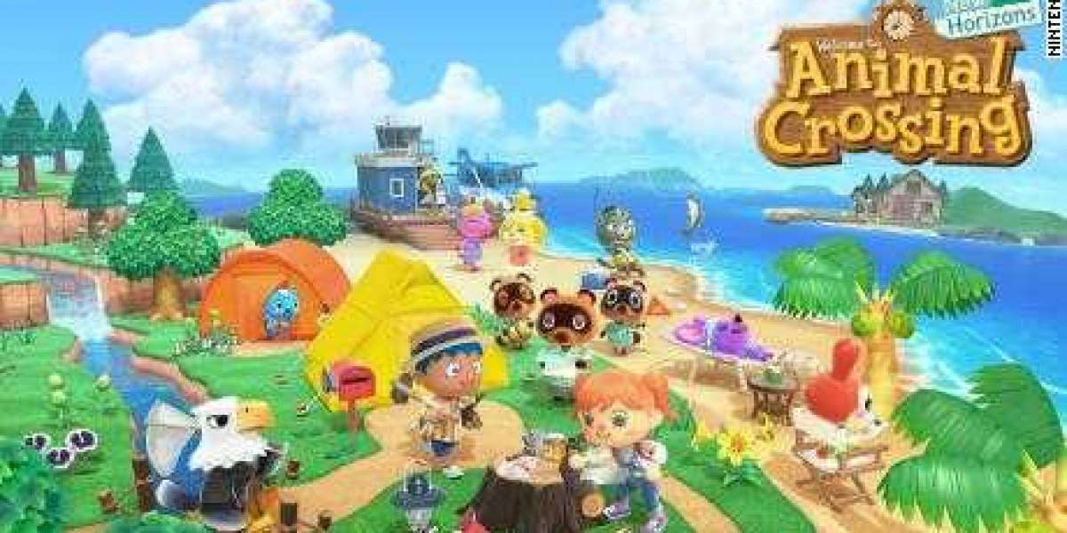 Animal Crossing have enjoy running with the campsite