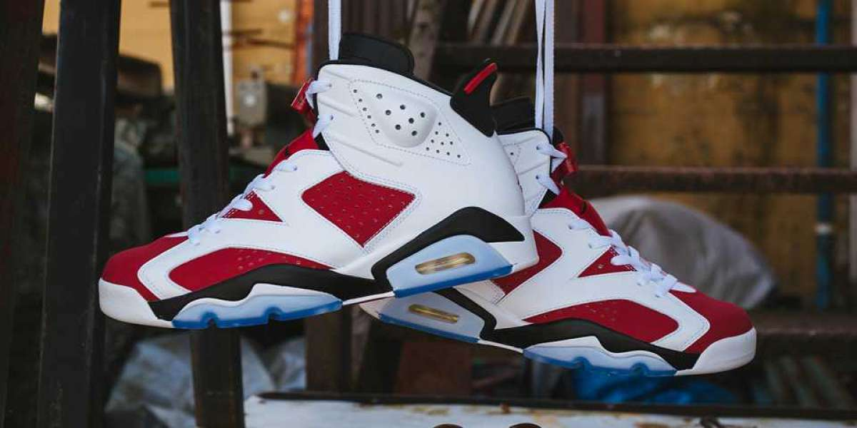 "The release date of Rouge AJ6 is set! Air Jordan 6 Retro ""Carmine"" you deserve a pair"