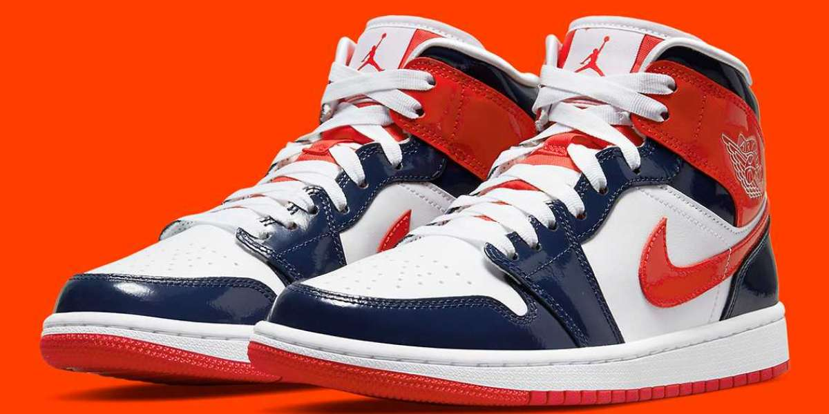 """DJ5984-400 Air Jordan 1 Mid Takes A """"Champ Colors"""" will be released soon"""