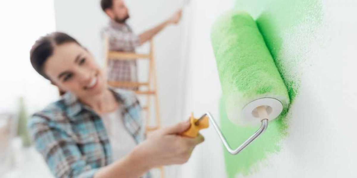 Learn how to paint half a wall to give charm to the decoration