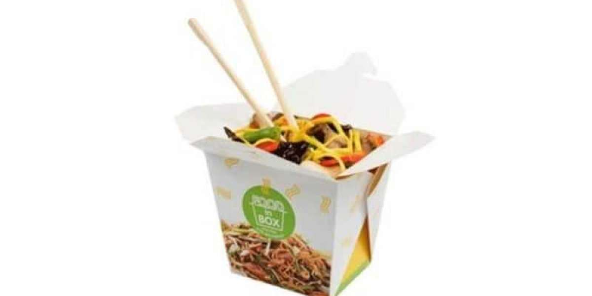 Custom Noodle Boxes at Discount Rates with Logo