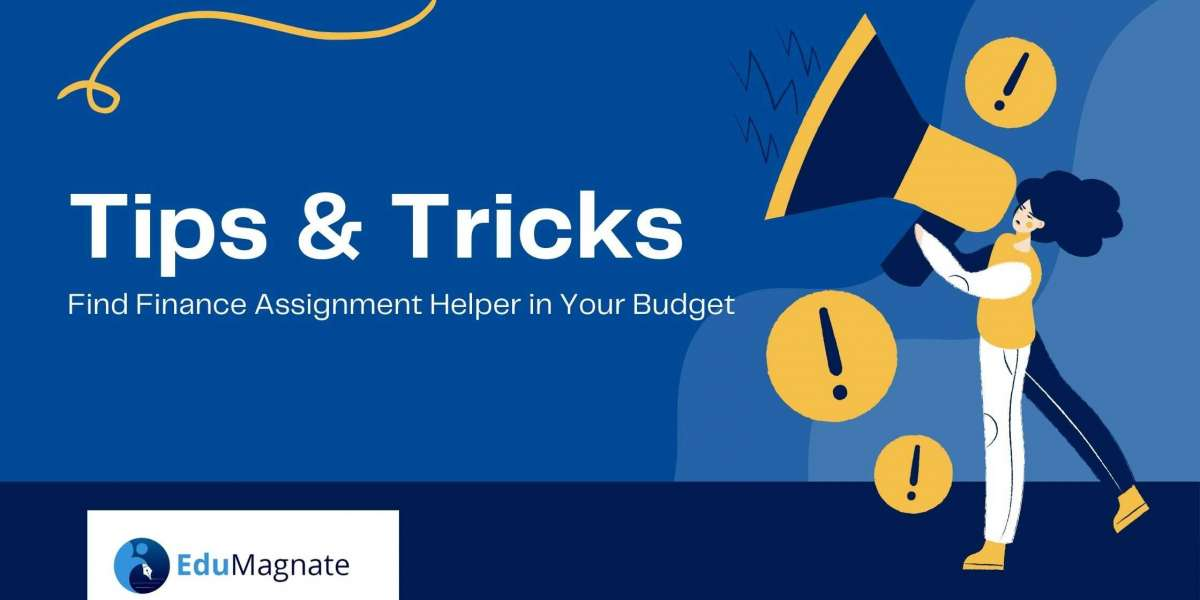 Tips to find Finance Assignment Helper in your Budget